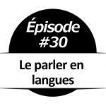 Le parler en langues