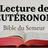 DEUTÉRONOME (Bible du Semeur)
