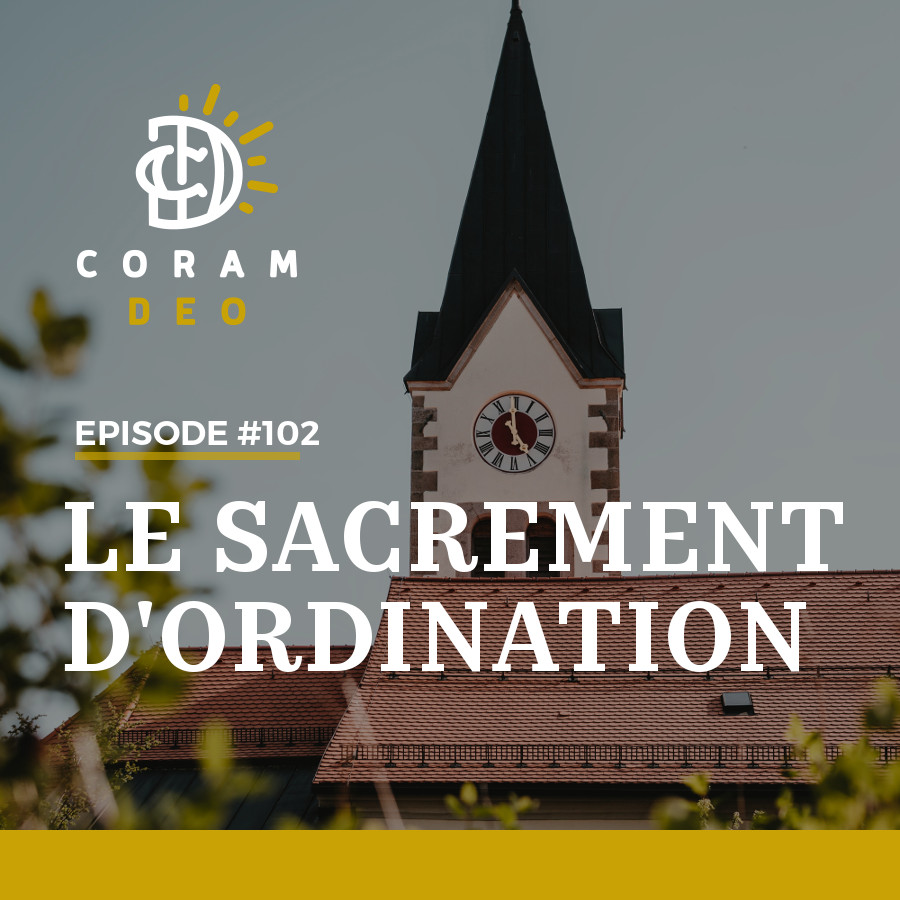 LE SACREMENT D'ORDINATION