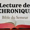 1 CHRONIQUES (Bible du Semeur)