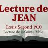 JEAN (Bible Louis Segond 1910)