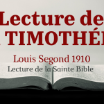 1 & 2 TIMOTHÉE, TITE, PHILÉMON (Bible Louis Segond 1910)